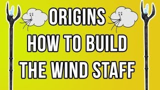 Origins How To Build The Wind Staff (Yellow Staff) Black