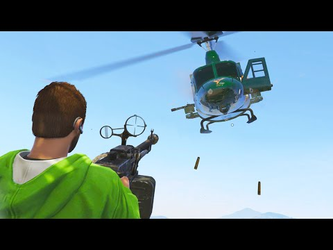 DEFEND THE TOWER! (GTA 5 Funny Moments)