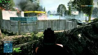 Battlefield 3: M93R gameplay