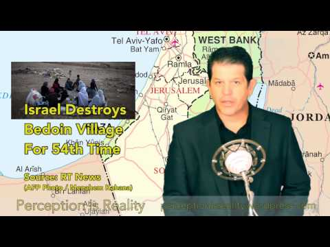Israel Destroys Bedoin Village for 54th Time