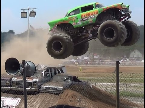 Meet monster trucks pt 2 bloomsburg 7-12-14
