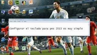 PES 2013 PC: CONFIGURACION DEL TECLADO
