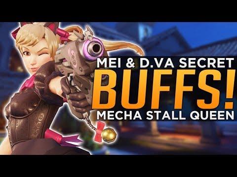 Overwatch: D.Va & Mei Secret BUFFS & Changes