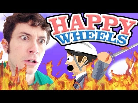 MY HOUSE IS ON FIRE! - Happy Wheels