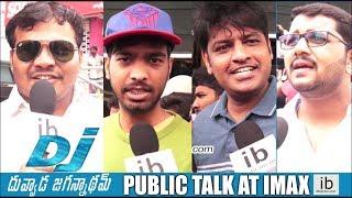 DJ Duvvada Jagannadham- Public talk at IMAX..