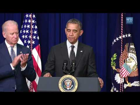 President Obama Signs Water Resource Reform & Development Act (WRRDA)