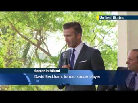 David Beckham buys Major League Soccer team
