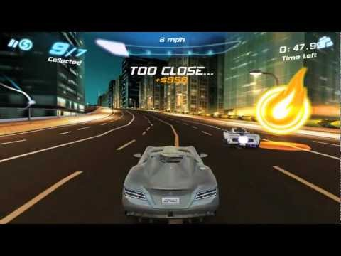 Obtaining four stars in Tokyo Collector in the Asphalt 6 Adrenaline