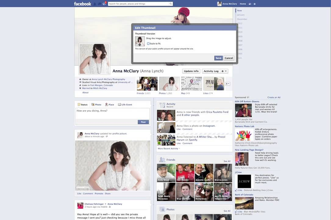 How To Make Profile Picture Without Cropping on Facebook - YouTube