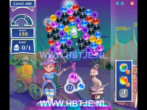 Bubble Witch Saga 2 level 160