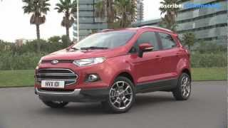 2014 NEW Ford Ecosport Driving View