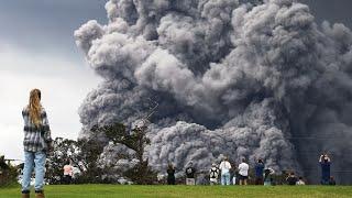 Kilauea volcano alert level raised in Hawaii