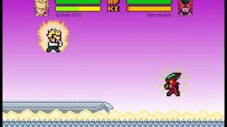 Dragon Ball Z Devolution Version 1.2.2 :D