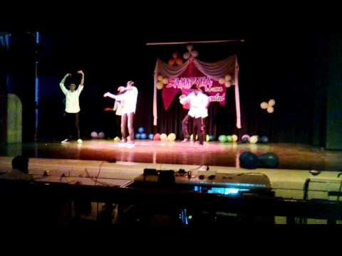 Mirchi Boyz dance for farewell in Pondicherry University