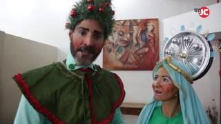 Doutores da Alegria encenam Auto de Natal em hospitais do Recife