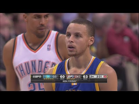 2014.01.17 - Stephen Curry Full Highlights at Thunder - 37 Pts, 11 Assists, Clinic!