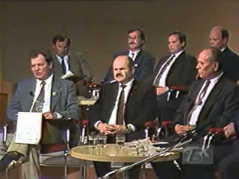Зянон Пазьняк і каманда на БТ (1994) ч.2.