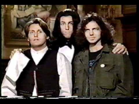 Eddie Vedder Shooting Original SNL Promos For Pearl Jam April 1994 Show