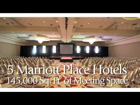 JW Marriott Indianapolis Hotel and City Tour