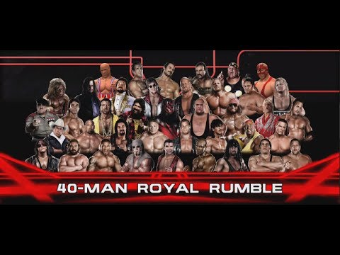 WWE 2K14 | 40 Man Retro/Legend Royal Rumble