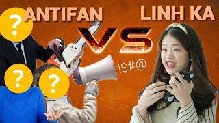 Phản ứng của anti fan lần đầu gặp Linh Ka   Trong Trắng 77