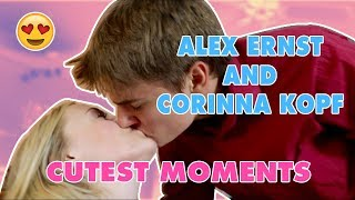 ALEX ERNST AND CORINNA KOPF BEST/CUTEST MOMENTS 😍