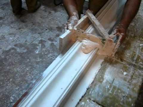 Como hacer molduras de yeso para marcos