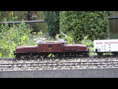 Swiss SBB Ce 6/8 crocodile electric locomotive gauge 0