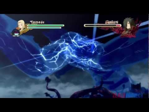 Naruto Storm 3: Madara vs 5 Kages