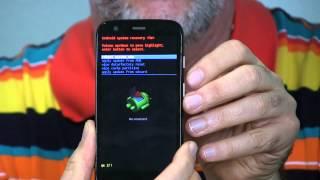 Moto G- How To Factory Reset Via Hardware
