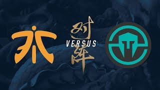 FNC vs. IMT | Group Stage Day 5 | 2017 World Championship | Fnatic vs Immortals