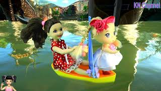 Thơ Nguyễn đi chơi công viên biển tập 3 TRUY TÌM CHÌA KHÓA VÀNG