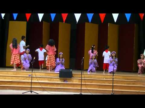 Itik Itik Dance Performance By Folsom Kids at St John Parish ( 09-16-2012)