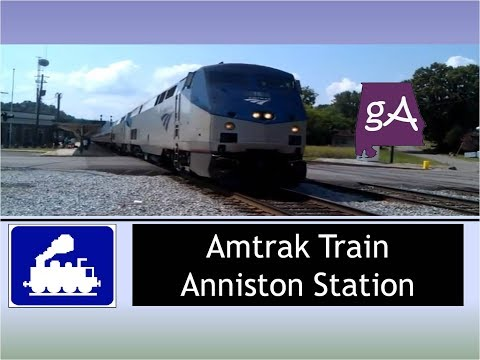 Another Amtrak Train Rolling Into The Anniston Station