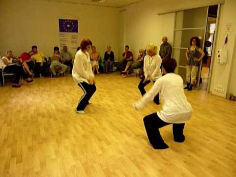 Йога в танце. 11 июня 2010 (В Центре Всестороннего Развития Человека GAISMA)