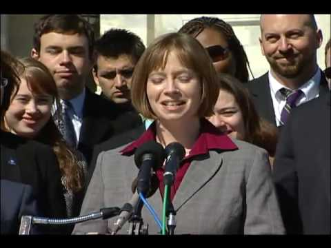 Thumbnail image for 'Kayla Williams at HRCs DADT Repeal Press Conference'