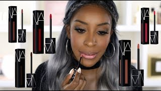 Trying on NARS Powermatte Lip Pigments! | Jackie Aina