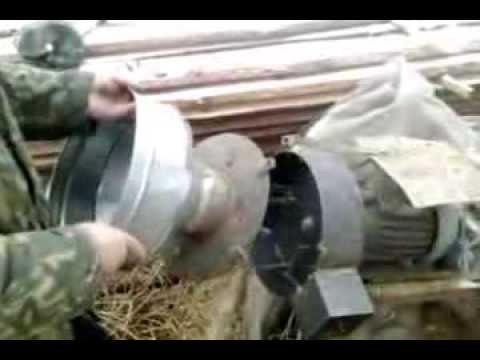 Измельчитель корма своими руками