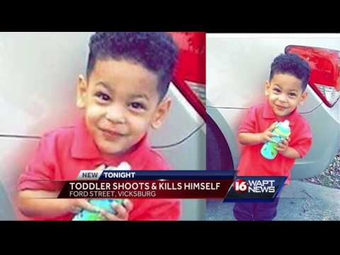 Toddler killed by self inflicted gun shot