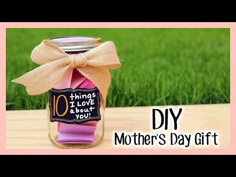 "DIY Mother's Day Gift ✿ ""10 Things I LOVE About You!"""