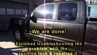 Atlanta GA: 2003 Chevy Silverado Ignition Lock Problem