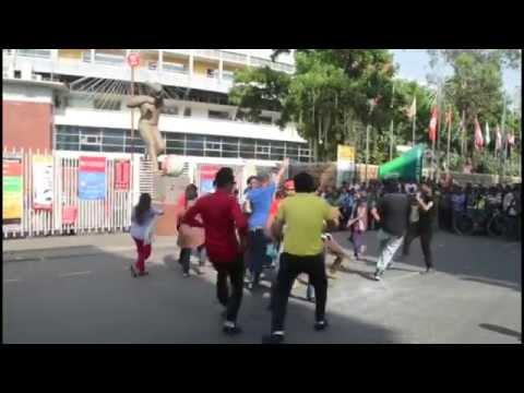 ICC World Twenty20 Bangladesh 2014 - Flash Mob,MIRPUR ZONE