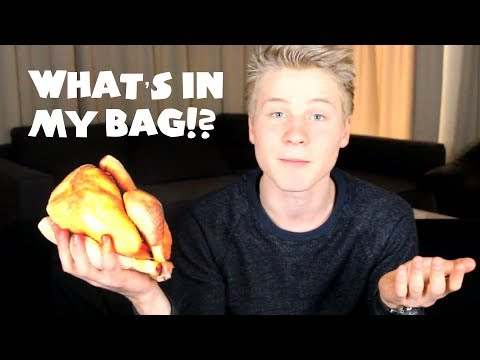 What's in my bag?! - VLEES EDITIE