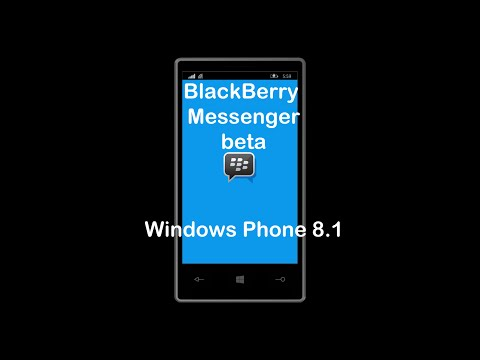BlackBerry Messenger (BBM) beta for Windows Phone 8.1 - Hands on and first impressions