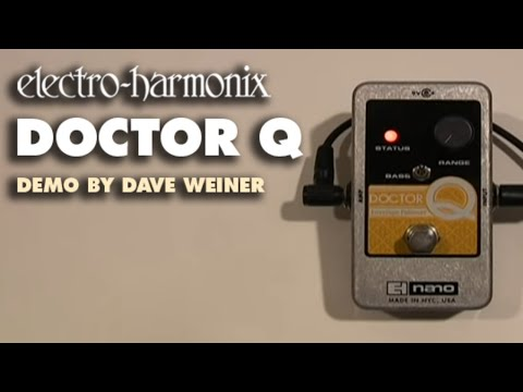 Electro Harmonix Doctor Q Envelope Filter Nano Effects Pedal for Guitar