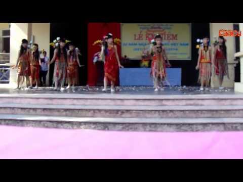 Múa Cô giáo em là hoa Eban- THCS Tam Đồng