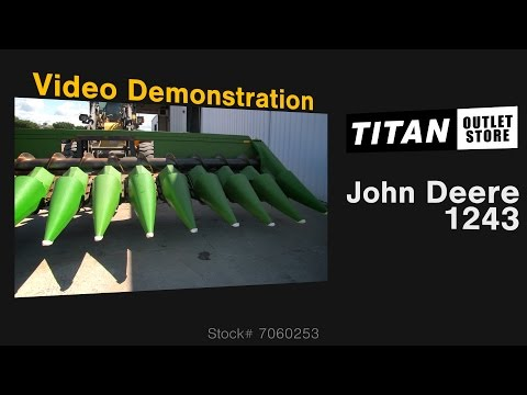 John Deere 1243, 12R22, Knife Rolls, 8820/7720 Header-Corn For Sale