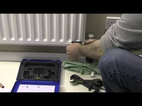 how to move a radiator without draining the system