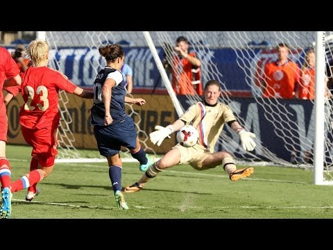 WNT vs. Russia: Highlights - Feb. 8, 2014