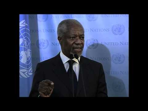 WorldLeadersTV: SYRIA: KOFI ANNAN: NEW UN-ARAB LEAGUE JOINT SPECIAL ENVOY meets UN S-G (UNTV)